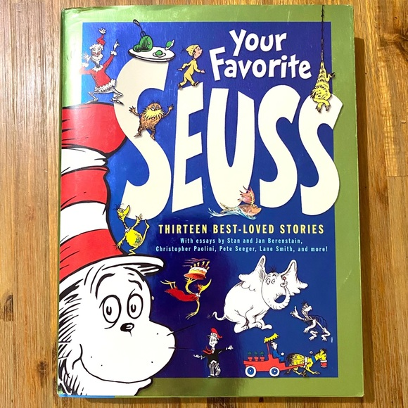 NEW DR. SUESS BOOK 13 Best-Loved Stories.